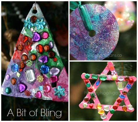 easy kids christmas ornaments    home
