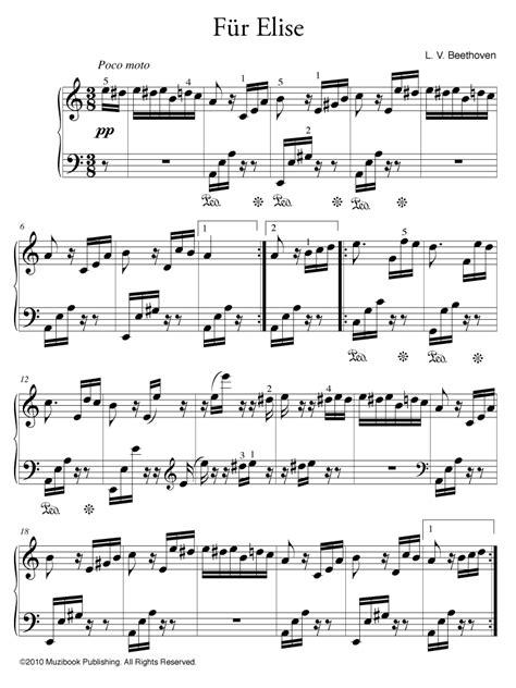 lettere d beethoven partition f 252 r elise piano de ludwig