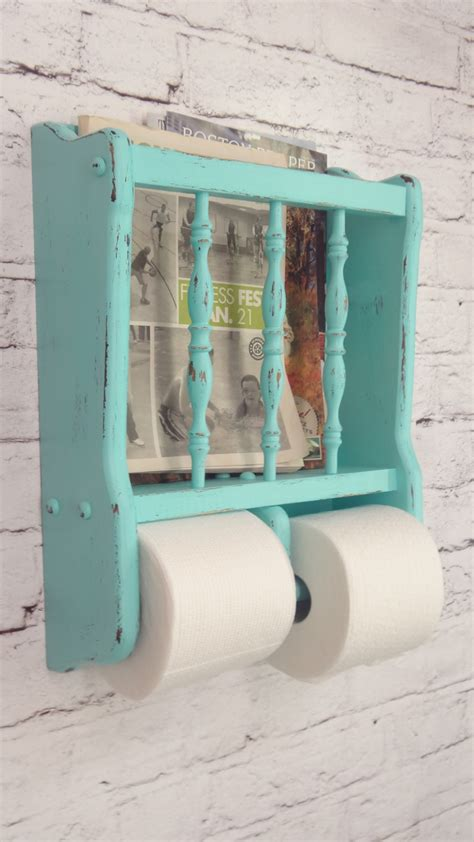 diy magazine holder for bathroom 52 ways incorporate shabby chic style into every room in