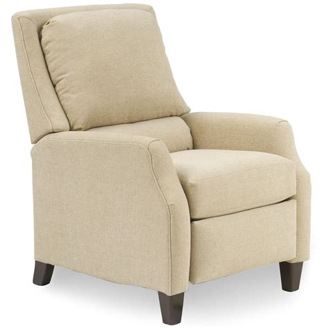 the recliner recliners upholstered 3 way recliner with legs by smith