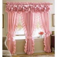 Ruffled Priscilla Curtains Curtains On Pinterest Ruffled Curtains Country Curtains