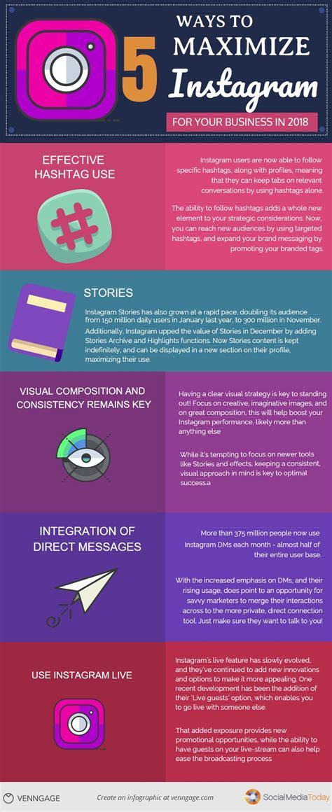 design instagram info instagram marketing tips for business infographic