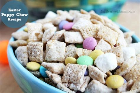 easter puppy chow easter puppy chow recipe and thyme