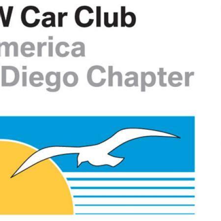bmw cca sticker san diego chapter bmw car club of america