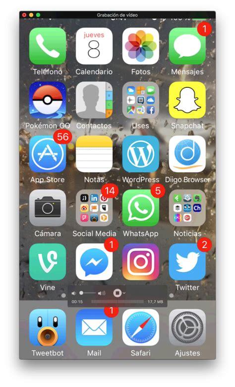 grabar escritorio windows 7 c 243 mo grabar la pantalla iphone en windows y macos