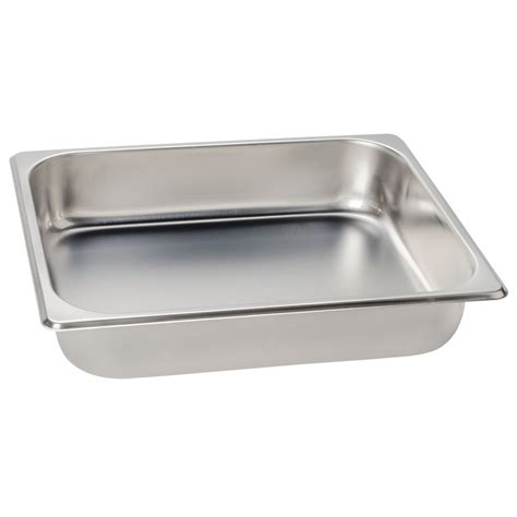 size steam table pan 1 2 size standard weight economy stainless steel steam