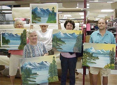 bob ross painting classes florida lenherr bob ross instructor in florida