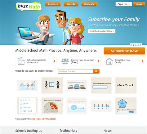 buzzmath design principles documentation project