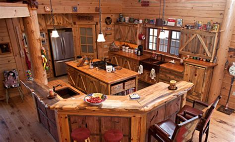 Kitchens Designs Australia by 16 Amazing Log House Kitchens You Have To See Hick Country