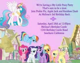 birthday party ideas my little pony birthday party