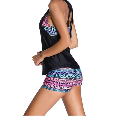Baju Renang Swimwear Br 250 baju renang wanita sport bathing swimsuit with tank top size s jakartanotebook