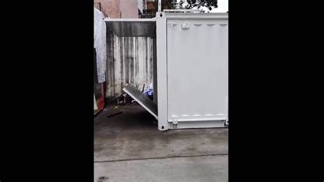motorola container shop youtube 20ft pop up container shop youtube