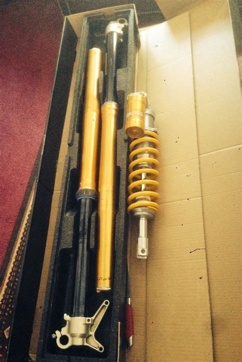 Shock Depan Ohlins Mx King ohlins rfx fork and ttx shock for suzuki rmz250 450 for