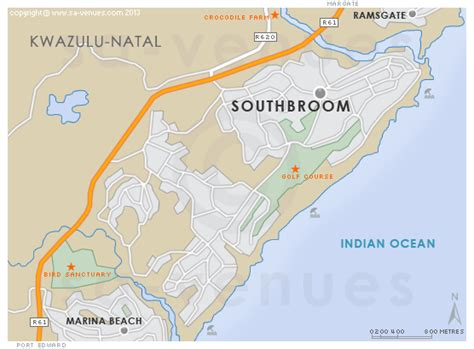 southbroom map
