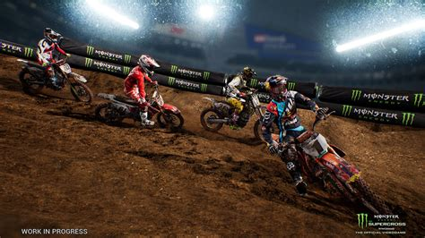 ama motocross game new supercross game drops the gate in february 2018