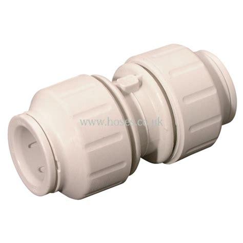 Push Plumbing Fittings by Jg Speedfit Coupling Plastic Plumbing Push In Fitting P20722567 163 1 88 Hoses Direct