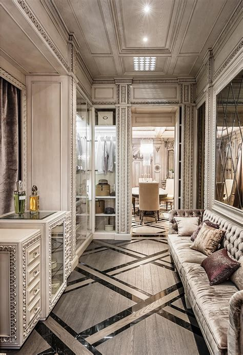 characteristics of deco interior design neoclassical and deco features in two luxurious