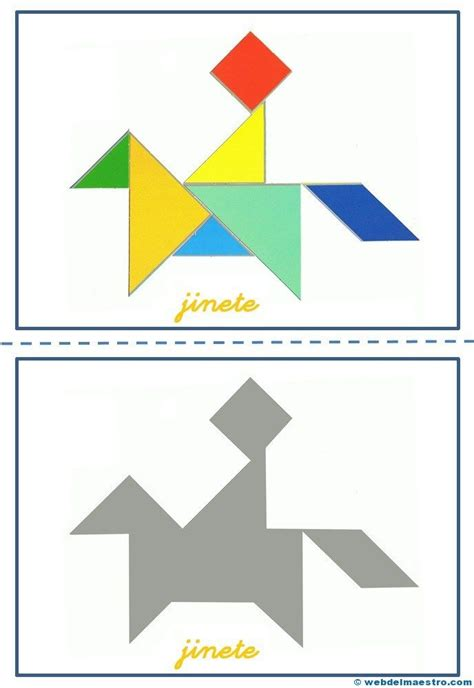 printable animal tangrams 372 best images about matem 193 ticas peques on pinterest