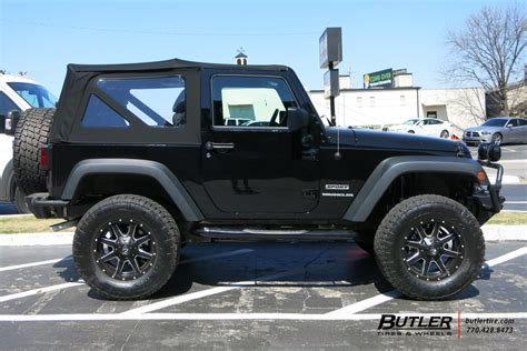 Jeep Tire Size Jeep Wrangler Custom Wheels Fuel Maverick 17x Et Tire