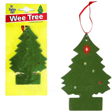 tree scents wee tree led car air freshener