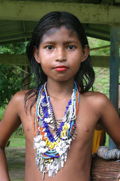 Embera Wounaan Girl Panama 2008 Sensaos Flickr
