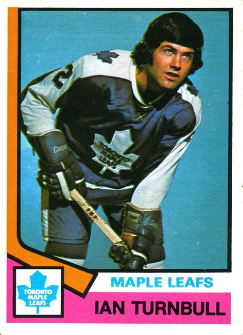 the o chee hockey card story books ian turnbull still holds a place in the nhl record books
