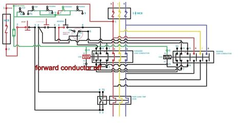 wiring reversing contacts wiring diagrams