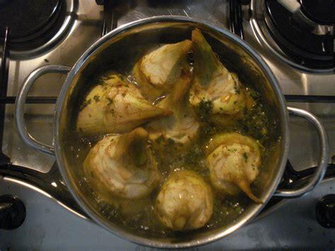 come cucinare carciofi alla romana carciofi alla romana chez fabio