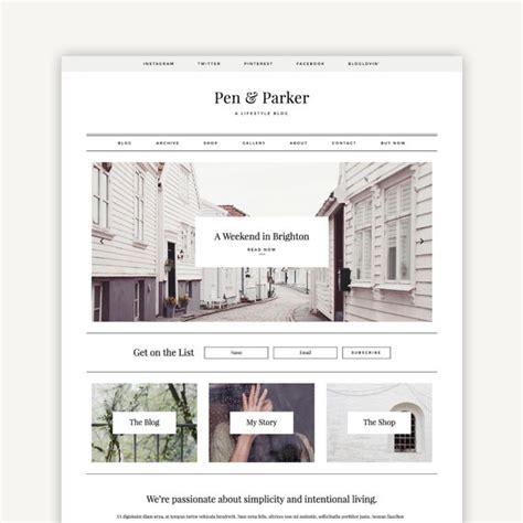 blog layout responsive responsive wordpress theme parker blog and ecommerce