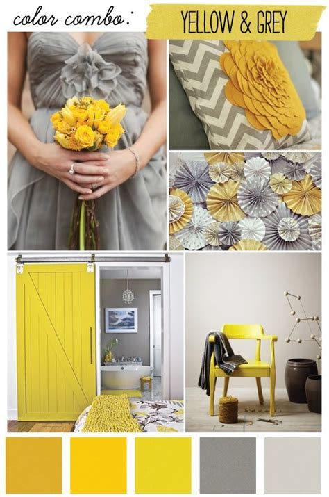 yellow colour combination bright yellow and grey combination wedding color