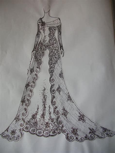 sketsa design gaun pengantin payet gaun pesta desain baju pesta kebaya modern dan