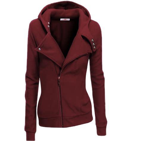 Zip Sleeve Sweatshirt womens wine zip up sleeve sweatshirt skylinewears