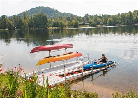 boat dock kayak storage 10 best kayak racks images on pinterest kayak rack lake