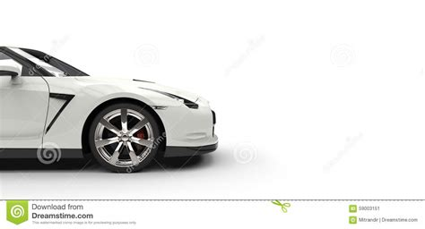 cartoon sports car side black sports car side view royalty free stock image