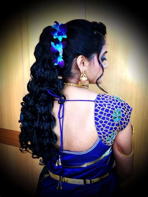 bridal hairstyles reception indian bride s bridal reception hairstyle styled by swank
