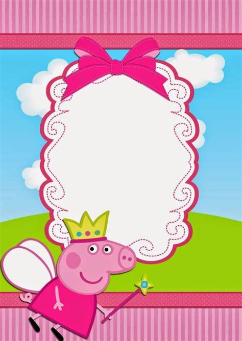Peppa Pig Birthday Party Invitation Free Invitation Templates Peppa Pig Birthday Invitation Free Template