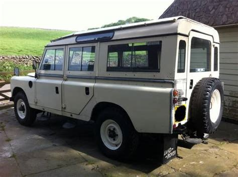 safari land rover for sale land rover siii safari 109 petrol sold 1979 on car and
