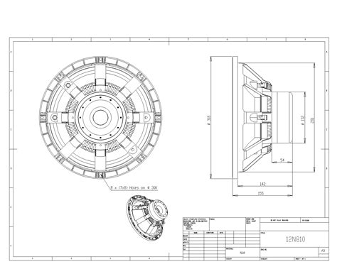 cad drawing product information