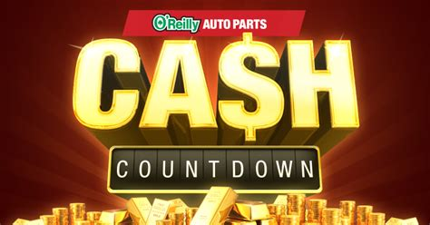 O Reilly Sweepstakes - o reilly auto parts cash countdown sweepstakes familysavings