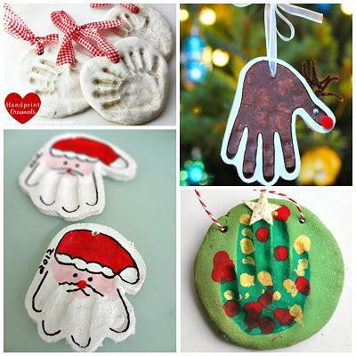 learn      salt dough handprint ornaments