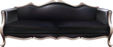 and black sofa black sofa png image