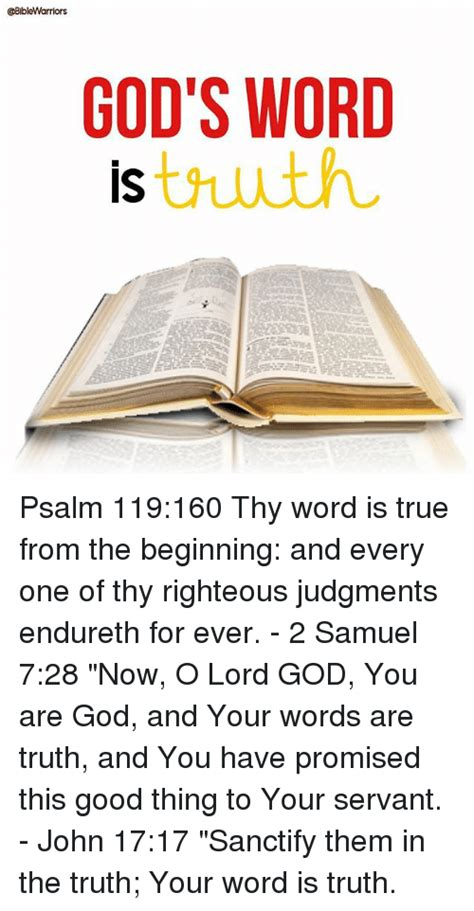 your word is truth inspirations