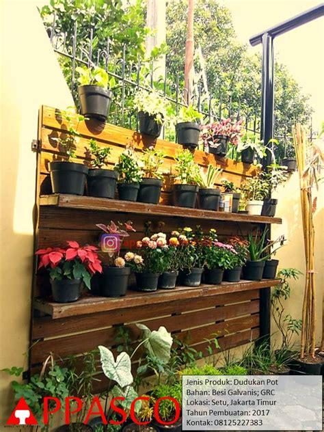 jual rak pot tanaman hias pot bunga unik  jakarta