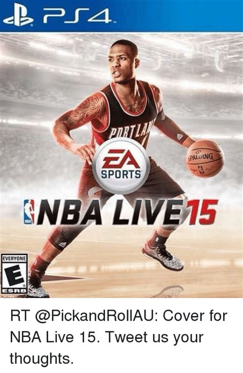 Sports Meme Generator - ea sports nba live 15 everyone esrb rt cover for nba live