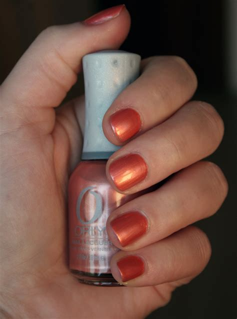 Orly Peachy Parrot collection birds of feather automne 2011 peachy parrot orly orphea