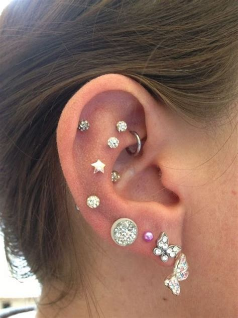ear piercing ideas tumblr love it everything and ears on pinterest