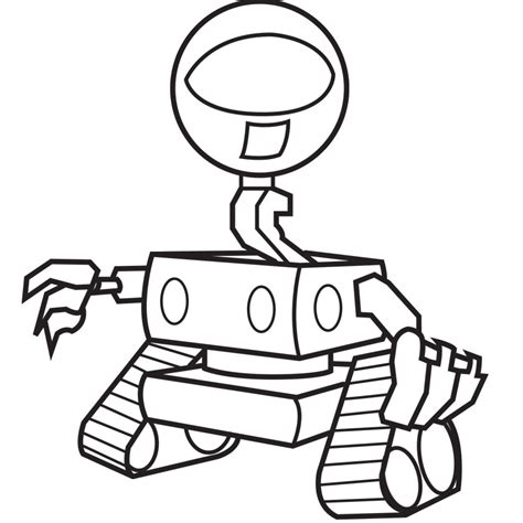 Robots Coloring Pages Coloring Pages Robot Colouring Pages
