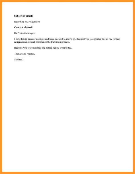 Resignation Letter Just After Joining and simple resignation letter bio letter format