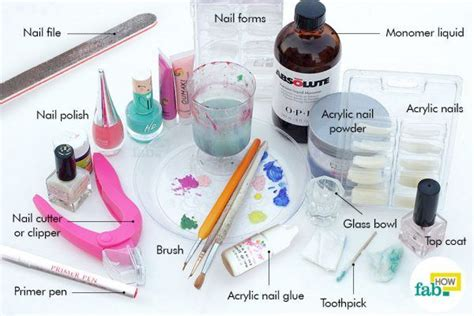How To Do Nail by How To Apply Acrylic Nails At Home Fab How