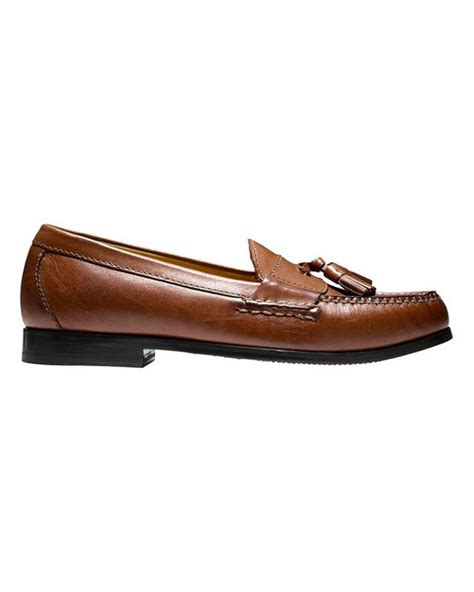 cole haan tassel loafers cole haan grand pinch s tassel loafers in brown for